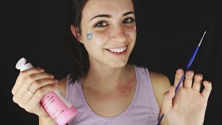 [ASMR] Painting Your Face! (Relaxing Roleplay) (Soft Spoken)