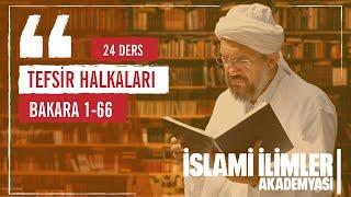 Tefsir 1 - FATİHA Sûresi ( Yeni ) - İhsan Şenocak