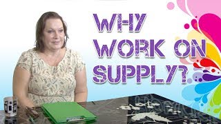Why work on a supply teaching basis?