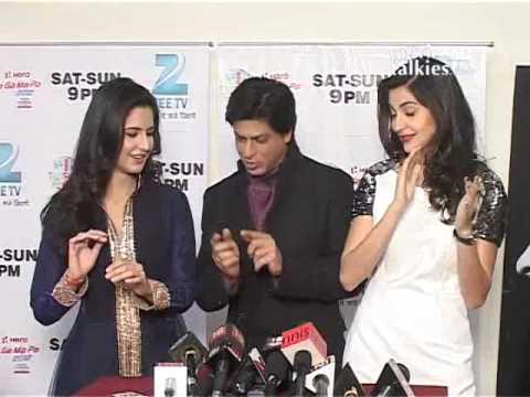 Shah Rukh Khan, Anushka Sharma, Katrina Kaif Promote 'Jab Tak Hai Jaan' At 'Sa Re Ga Ma Pa'