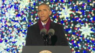 First Family Attends The Christmas Tree Lighting
