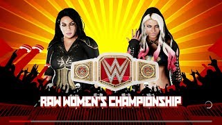 Extreme Rules 2018 - Alexa Bliss Vs Nia Jax For The RAW Womens Title - WWE 2K18