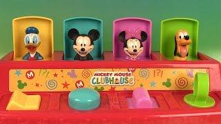 Mickey Mouse Pop Up Pals Jouets Surprises en Pâte à modeler Play Doh Premier Âge