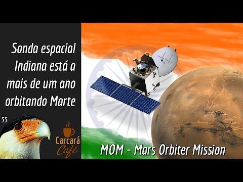 Sonda espacial Indiana (MOM) está  a  mais de um ano  orbitando Marte.