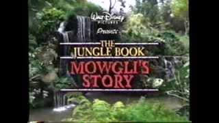 The Jungle Book - Mowgli's Story (1998) Trailer (VHS Capture)