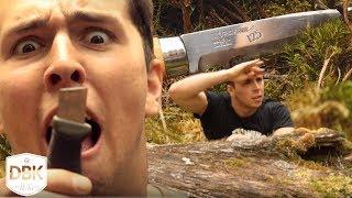 Broke my best Friend's Knife! | Into the Wild