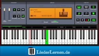 Ella Henderson - Yours - Klavier lernen - Musiknoten - Akkorde