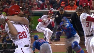 CHC@WSH Gm5: Nats erupt for four runs in the 2nd