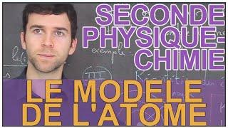 Le modèle de l'atome - Physique-Chimie - Seconde - Les Bons Profs