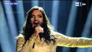 Conchita Wurst - Valerio Scanu canta