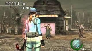 Resident Evil 4 PC MOD (Jill BSAA_Jack Krauser)