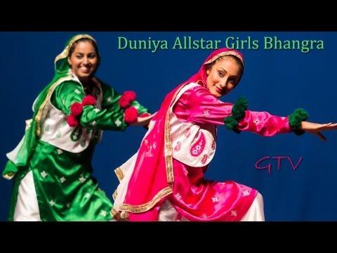 Duniya Allstar Girls Bhangra (second performance) @ Notorious Bhangra 2012