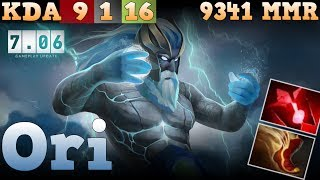 Ori Zeus Top 1 World - 9341 MMR Dota 2