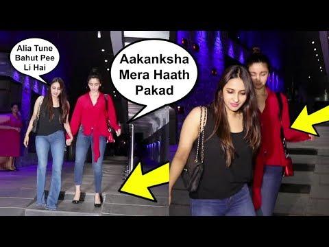 Xxx Mp4 Alia Bhatt So Much Drunk That She Needs Support To Walk 3gp Sex