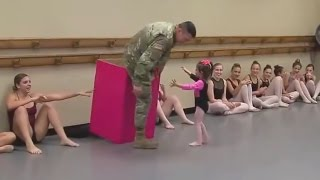Soldier Surprises Daughter: 'I Love You Daddy!'