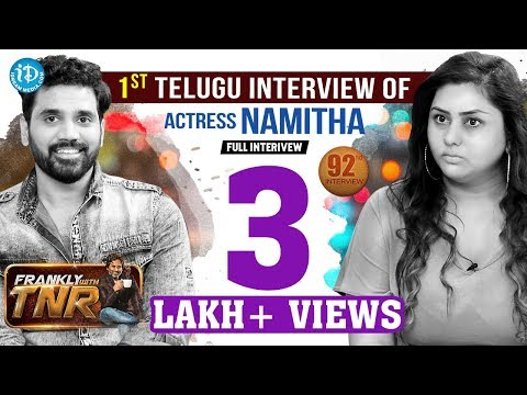 Xxx Mp4 Actress Namitha Veera Exclusive Interview Frankly With TNR 92 Talking Movies With IDream 3gp Sex