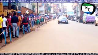 Freetown City And SLRSA Traffic Free Flow - Sierra Network Wan Pot
