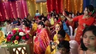 Badhon & Tazkia's Holud dance performance