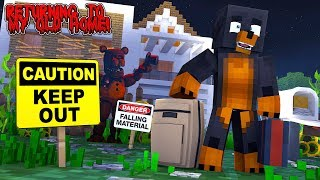 Minecraft DONUT RETURNS TO HIS OLD HOUSE TO SEE A NASTY SURPRISE!!