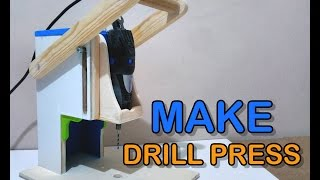 How to Make a Drill Press  - Router Table And Spindle Sander