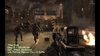 WELCOME TO HELL ! US Marines in Heavy Combat ! Call of Duty 4 Modern Warfare 1