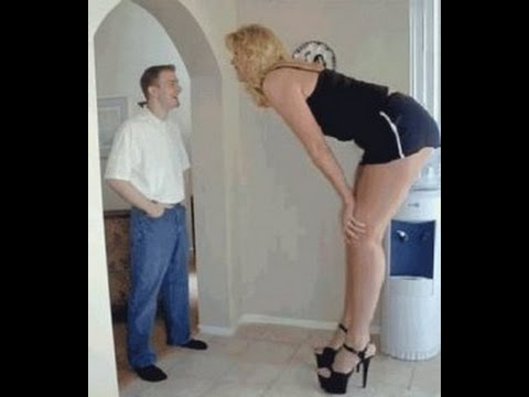 World's Tallest Man and Woman