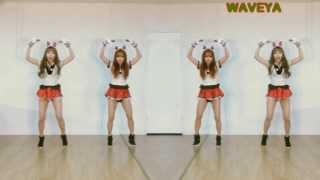 Crayon Pop-Lonely Christmas WAVEYA K-pop dance practice