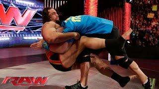 "Rusev and Lana ""honor"" the career of John Cena: Raw, February 9, 2015"