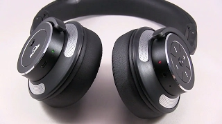Amazing Bluetooth Headphones Review & Audio Test - iDeaUSA Active Noise Cancelling