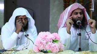 محاضرة بعنوان دمعة تائب رائعة جداااا  نايف الصحفي و منصور السالمي