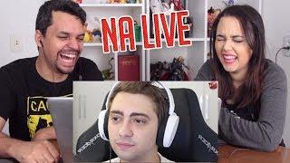 REACT COISAS QUE ACONTECEM NA LIVE DO ALANZOKA (Um Gamer Aleatório)