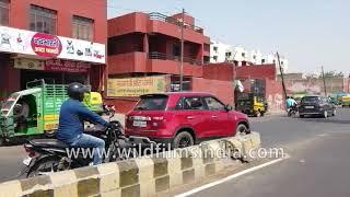 Agra drive-through gyro-stabilized traffic view