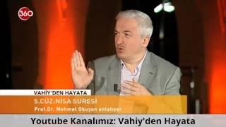 Kur'ân'da Eşini Döv Emri Yoktur! Nisa 34. Ayeti Hakkında - Prof. Dr. Mehmet Okuyan | HD