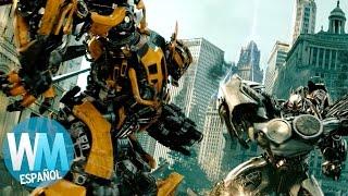 ¡Top 10 Impresionantes Peleas de Robots en Películas!