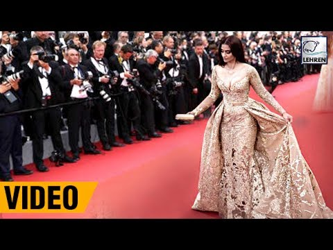 Sonam Kapoor Wears Most EXPENSIVE Diamond Jewels At Cannes 2017 | LehrenTV