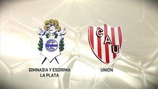 Fútbol en vivo. Gimnasia LP - Unión. Fecha 11. Torneo de Primera División 2016/2017. FPT