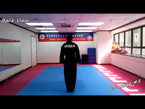 Xxx Mp4 Taekwondo Poomsae 1 Il Jang Slow Motion Amp Mirror 3gp Sex
