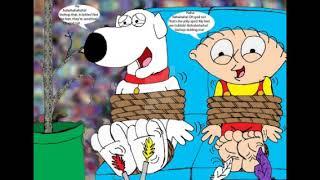 Brian & Stewie Griffin Tickled