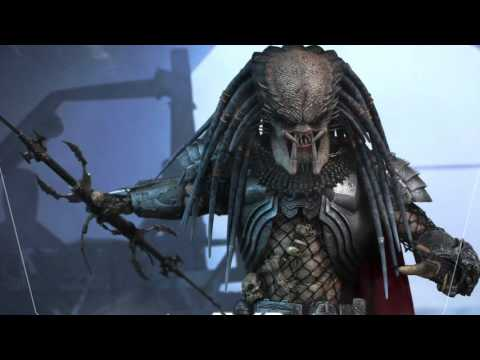 Alien VS Predator Hot Toys Elder Predator 2.0 1 6 Scale Movie Figure Pics & Details