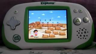 Leapster Explorer Dora the Explorer Worldwide Rescue Game Preview (Egypt)