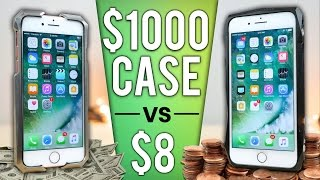 $8 iPhone Case vs $1000 Case DROP Test!