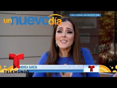 ¡La hija de Andrés García cuenta toda la verdad! | Un Nuevo Día | Telemundo