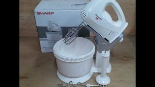 Stand Mixer Sharp 3in1 Ems-51L Libre (Stand mixer, Hand mixer, Hand Blender)