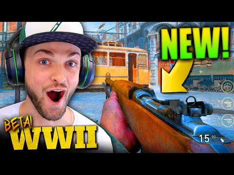 THE BETA IS BACK *EARLY* (NEW CONTENT)! - Call of Duty: WW2 Beta Gameplay *LIVE* w/ Ali-A!