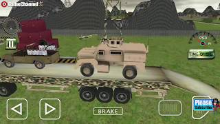 Army Cargo Truck Driving / Drive Real Army Truck Simulator / Android Gameplay Video #2