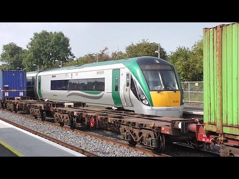 Xxx Mp4 IE 22000 Class ICR Train Number 22345 Kildare Station Ireland 3gp Sex