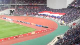 50,000 THAILAND supporters sing our national anthem at Rajamangala Stadium [08.09.2015]