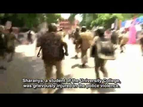 Police brutality against student protesters in Kerala