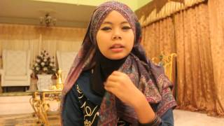 Tutorial Pasmina Silang for Najeeha :)
