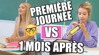 BACK TO SCHOOL | PREMIÈRE JOURNÉE VS 1 MOIS APRÈS